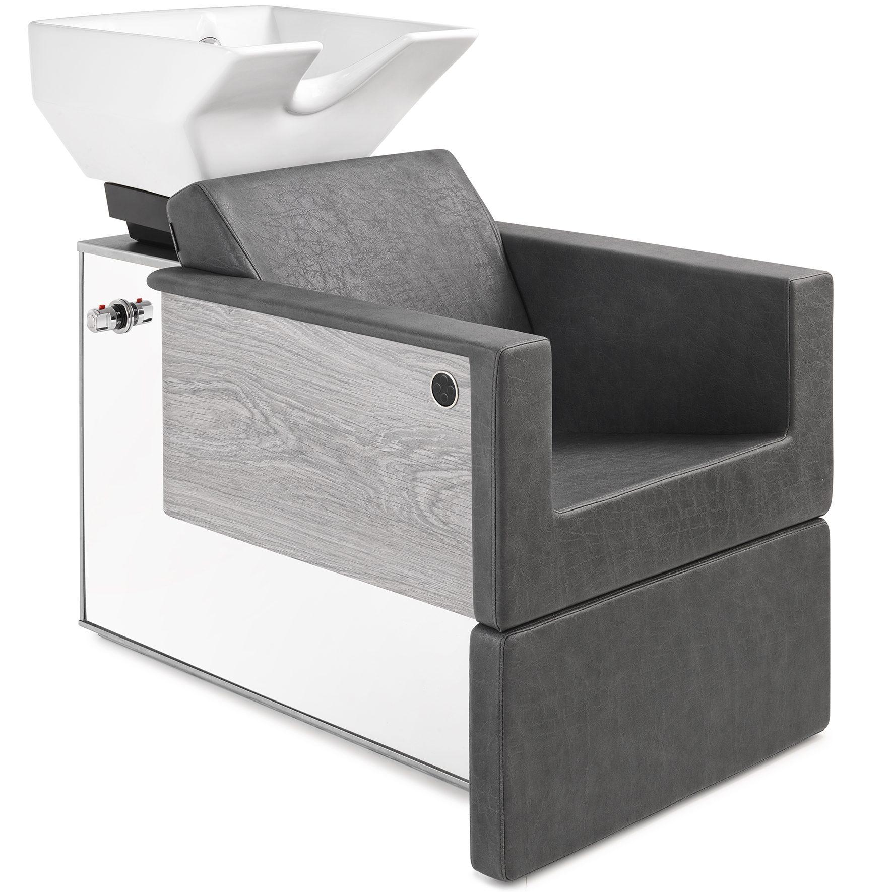 Kapperswasbak met stoel
